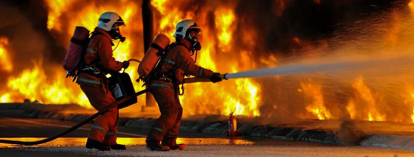 Vatrogasna vježba u Domu zdravlja Ozalj