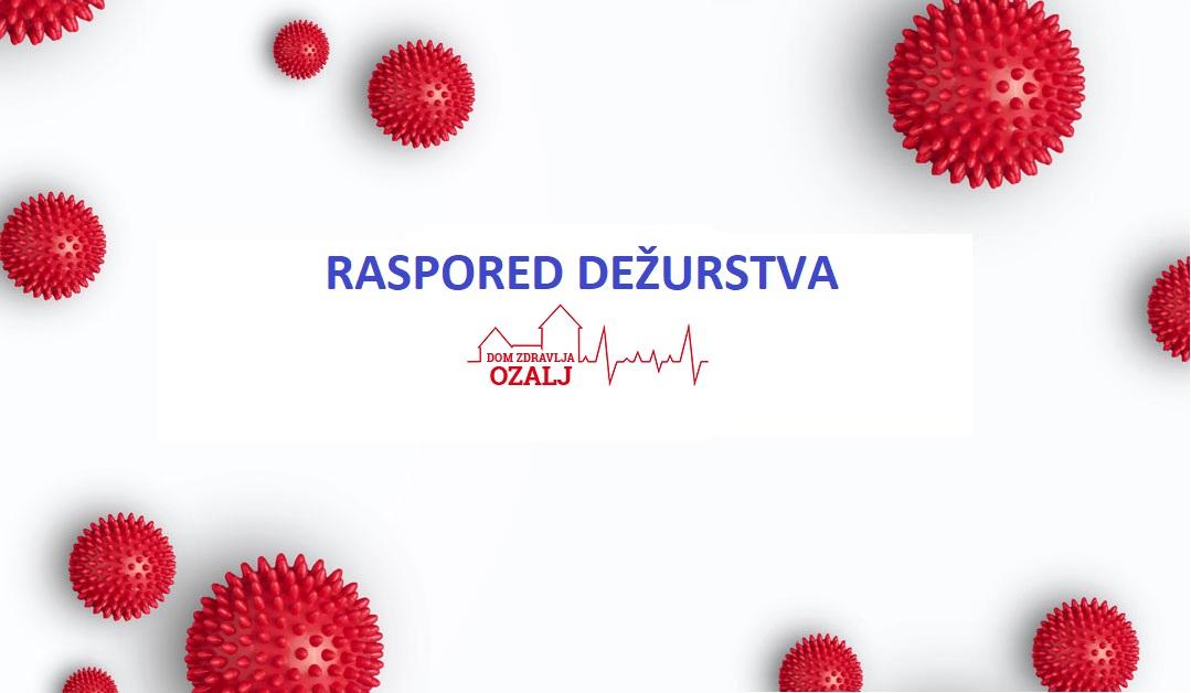 Rapored dežurstava u obiteljskoj i dentalnoj med. za 3-4. mj. 2020